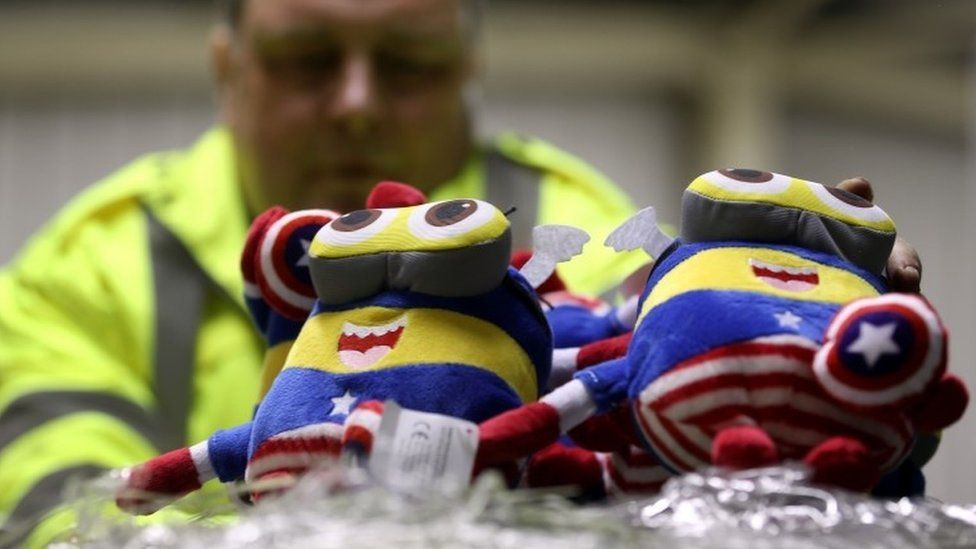 Cuddly toys seized