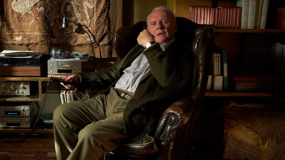 Sir Anthony Hopkins in The Father