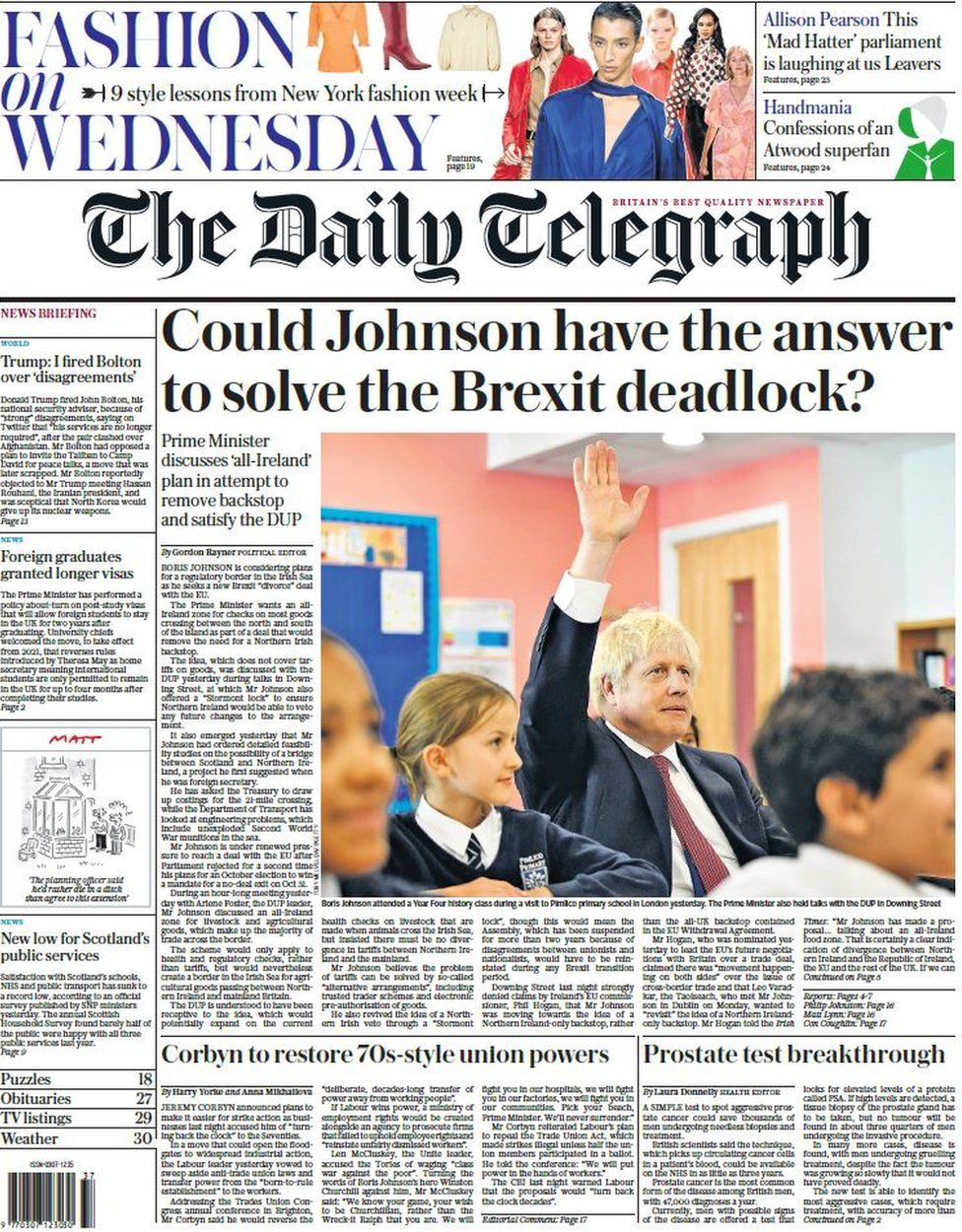 Scotland's papers: Alesha appeal shock and Saville school