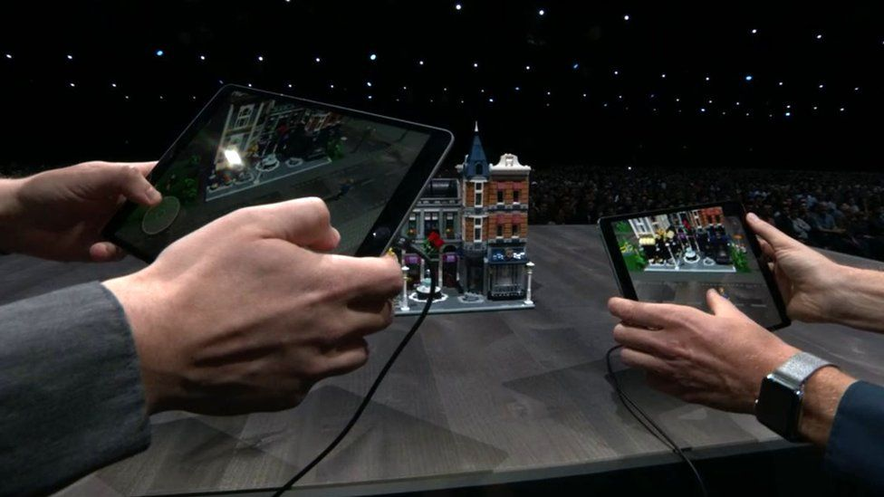 Shared augmented reality