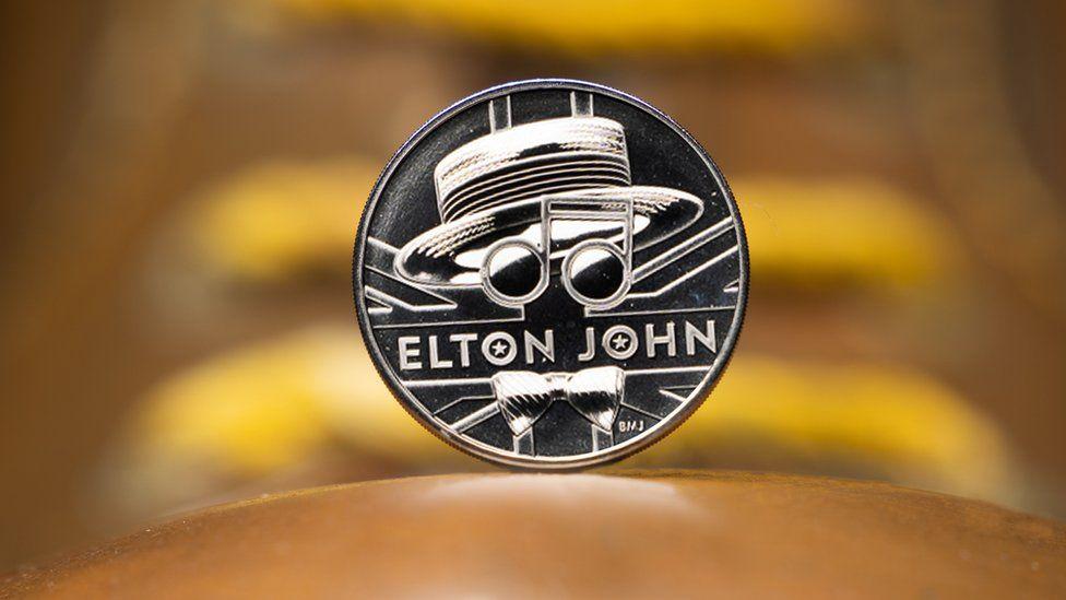 Sir Elton John coin