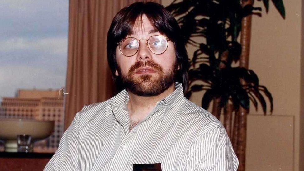 Photograph of Keith Raniere in the early 1990s