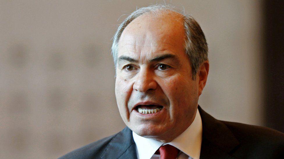 Jordan's Prime Minister Hani Mulki