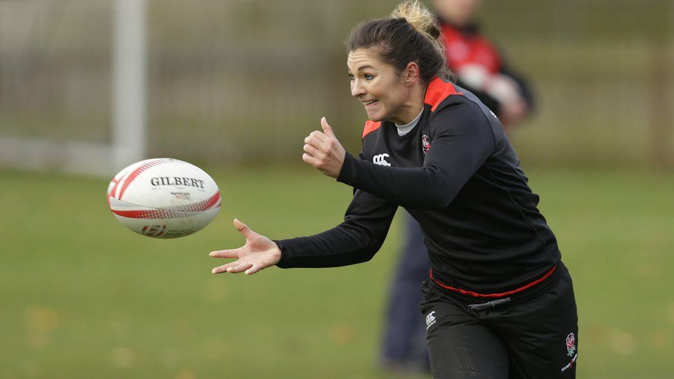England rugby player Amy Wilson Hardy