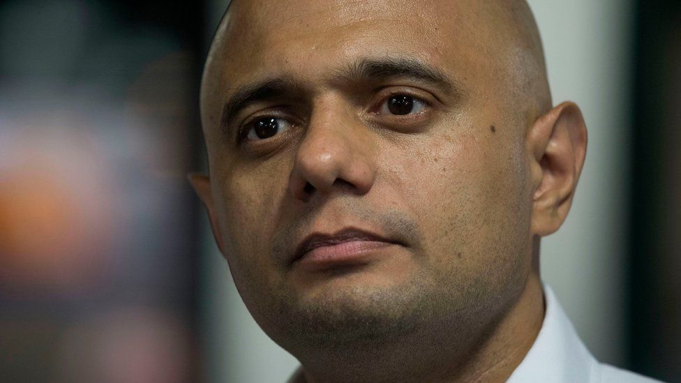 File image of Sajid Javid