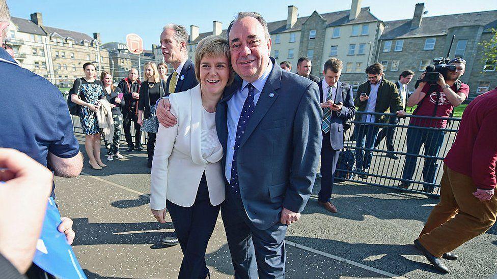 Could Alex Salmond bring down Nicola Sturgeon? - BBC News