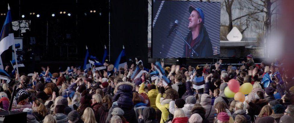Concert in Estonia
