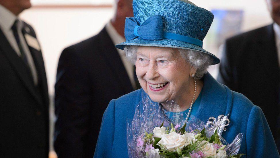 Queen Elizabeth II in Aberdeenshire in September