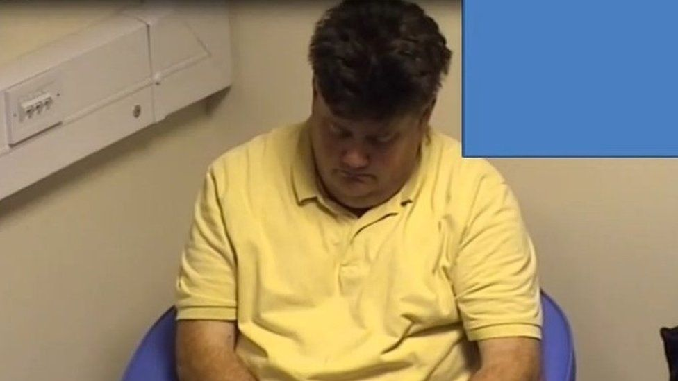 Screen grab from Carl Beech police interview in 2014