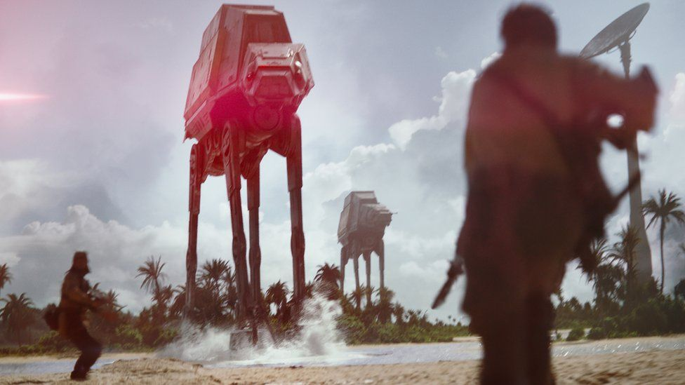 Scene from Rogue One