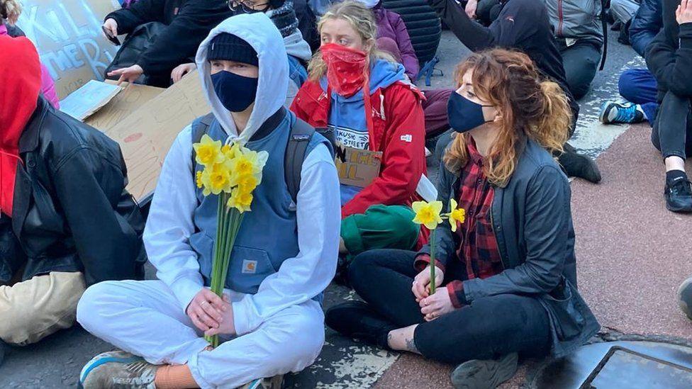 Kill the Bill march in Bristol
