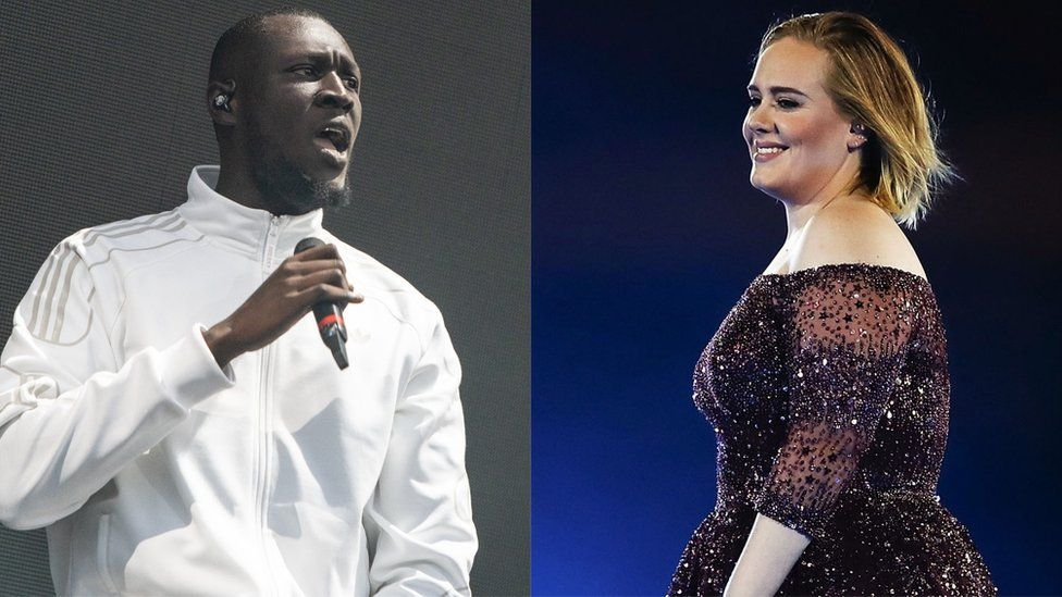 Stormzy and Adele
