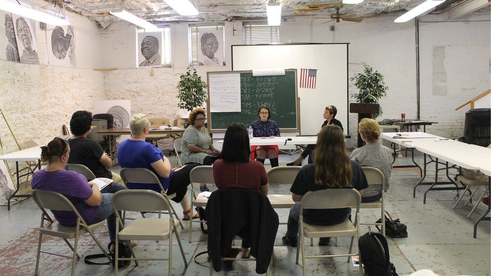The self-managed abortion forum in St Louis, Missouri