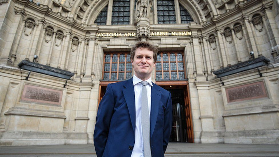 Tristram Hunt at the Victoria and Albert Museum