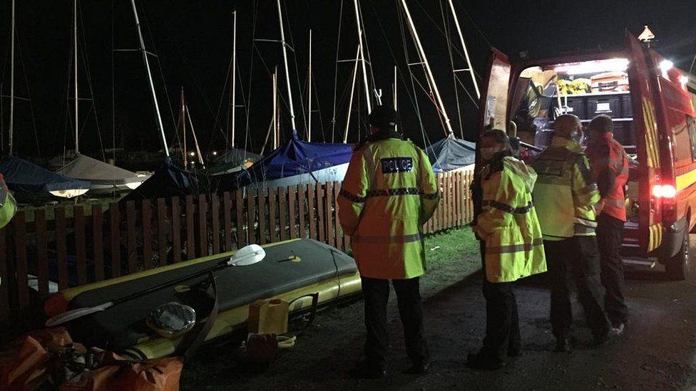 Surlingham river search crews