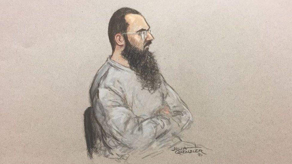 Husnain Rashid court illustration