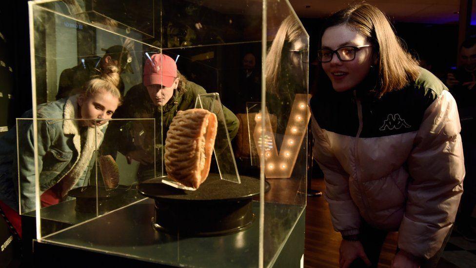 Greggs launch of the vegan steak bake