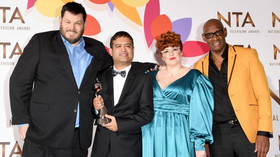 Mark Labbett, Paul Sinha, Jenny Ryan and Shaun Wallace