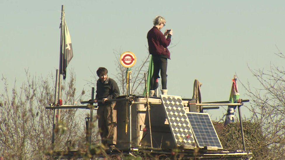 Grow Heathrow protesters