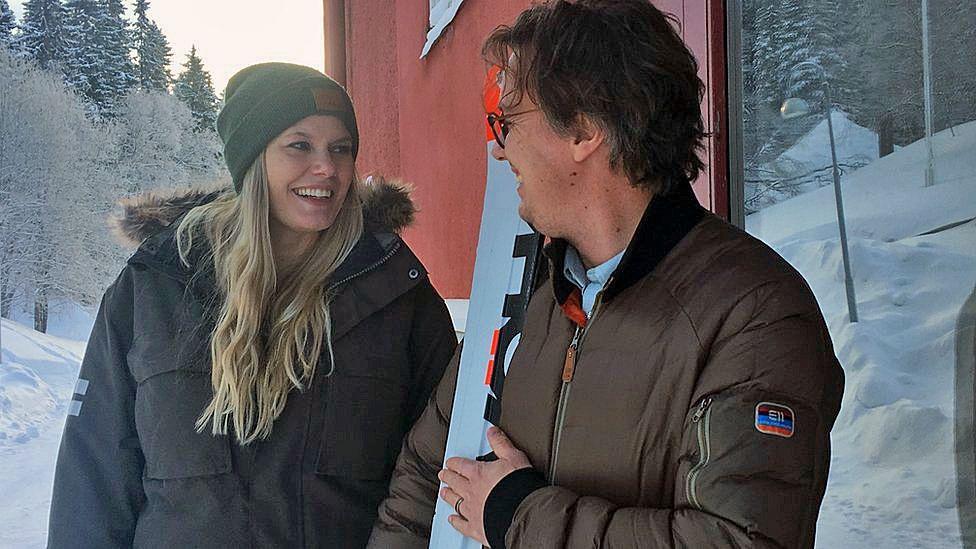 Ulrika Viklund and Andreas Eriksson