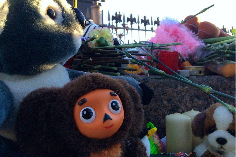 Toys at memorial