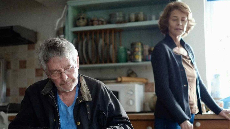 Charlotte Rampling and Tom Courtenay in 45 Years