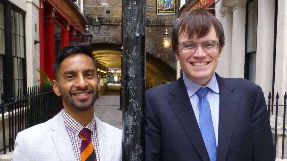 Bobby Seagull and Eric Monkman