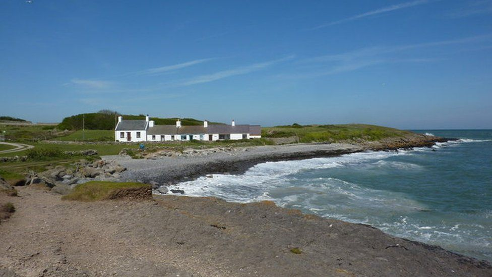 Moelfre, on the Isle of Anglesey