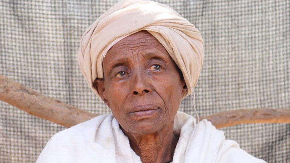 Mare Abebe, the guardian of Belaynesh Mekonnen who was kidnapped in December