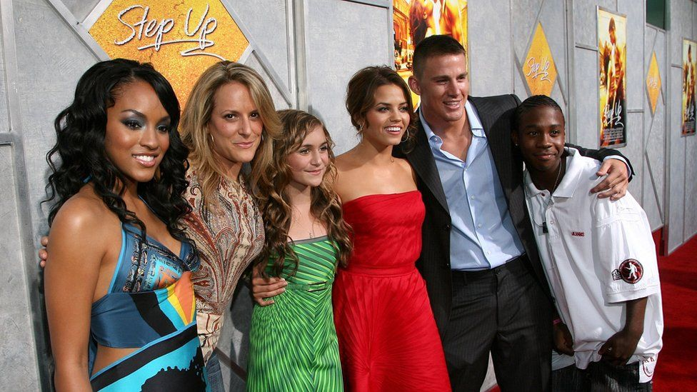The cast and director of Step Up