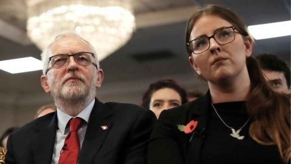 Jeremy Corbyn and Laura Pidcock
