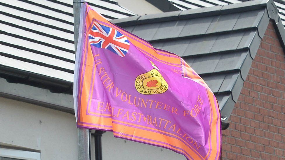 UVF flag
