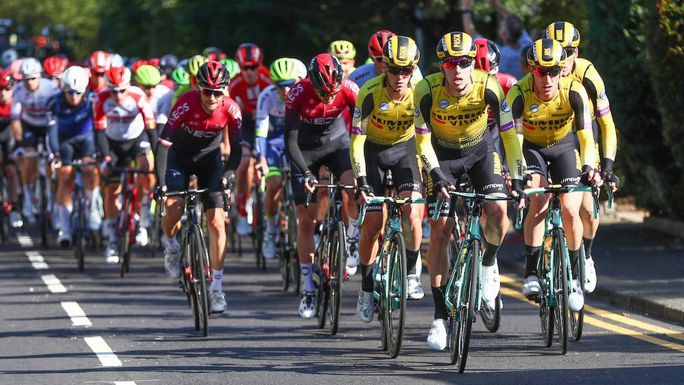 Tour of Britain: Second day of cycling action in Scotland