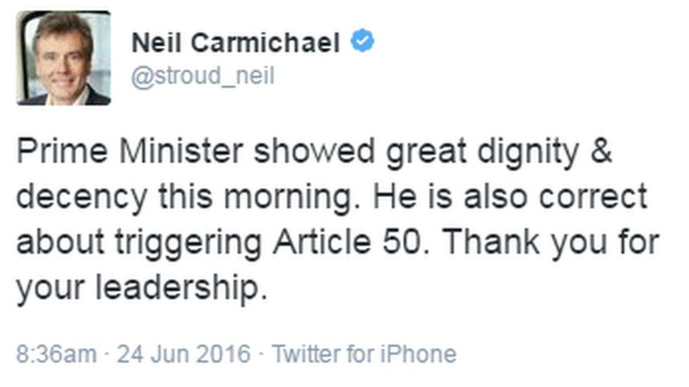 Neil Carmichael Stroud MP