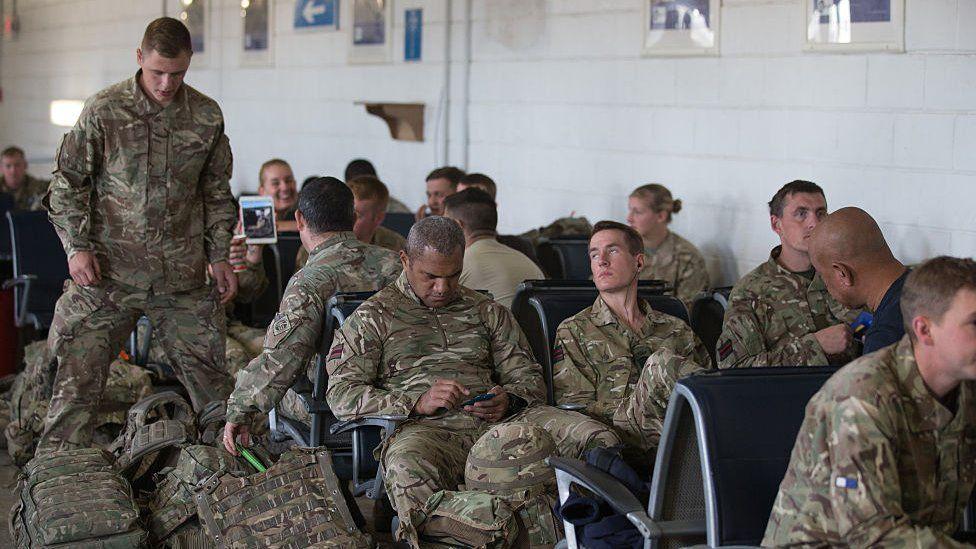 British troops left Afghanistan in 2014