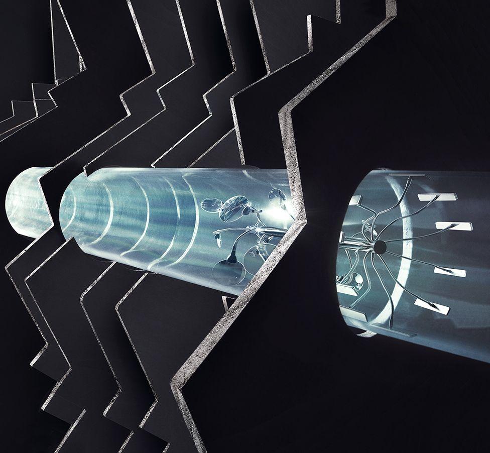 Ödülün 1989 kazananı British Gas: Ayaklarımızın altında akıllı araçların doğalgaz boruları içinde gezerek denetim yaptığı bambaşka bir dünya var