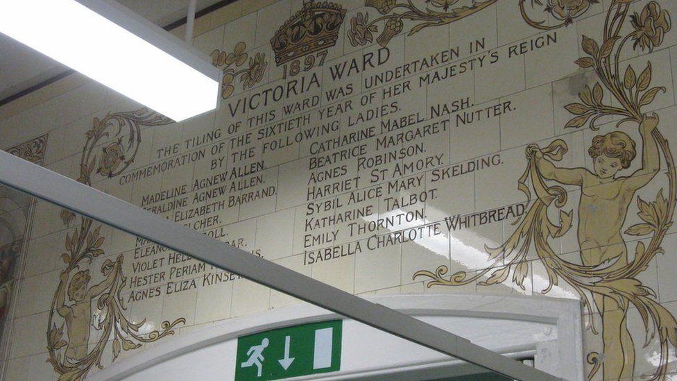 Victoria Ward tiles