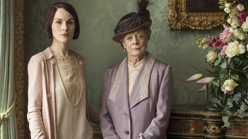 Michelle Dockery and Dame Maggie Smith