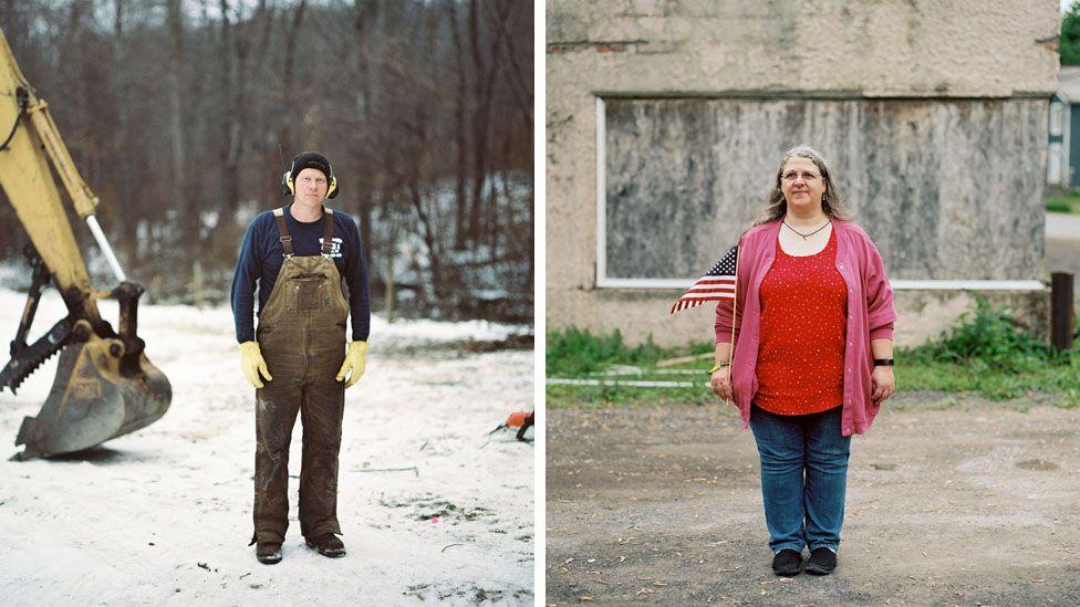 Steve McCagg and Denise Davis, residents of Ghent