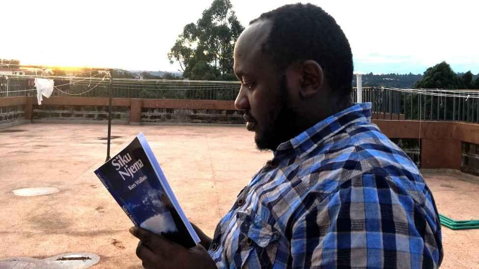 Basillioh Mutahi reading Siku Njema