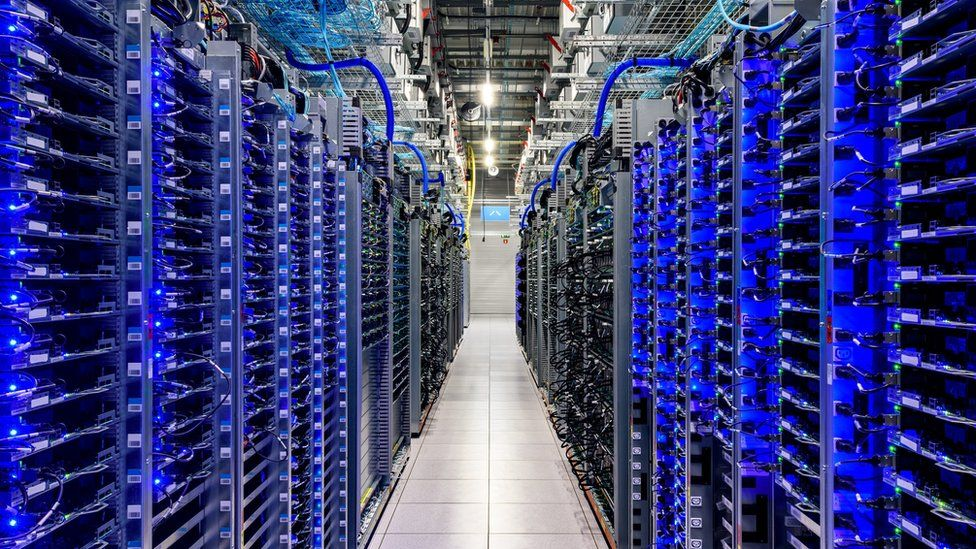 A Google Cloud data centre