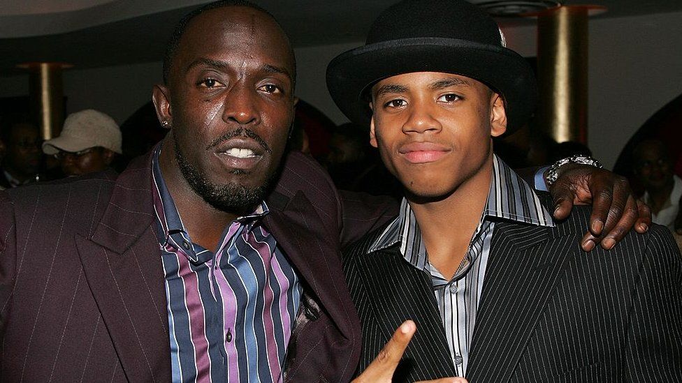 Michael K Williams and Tristan Wilds