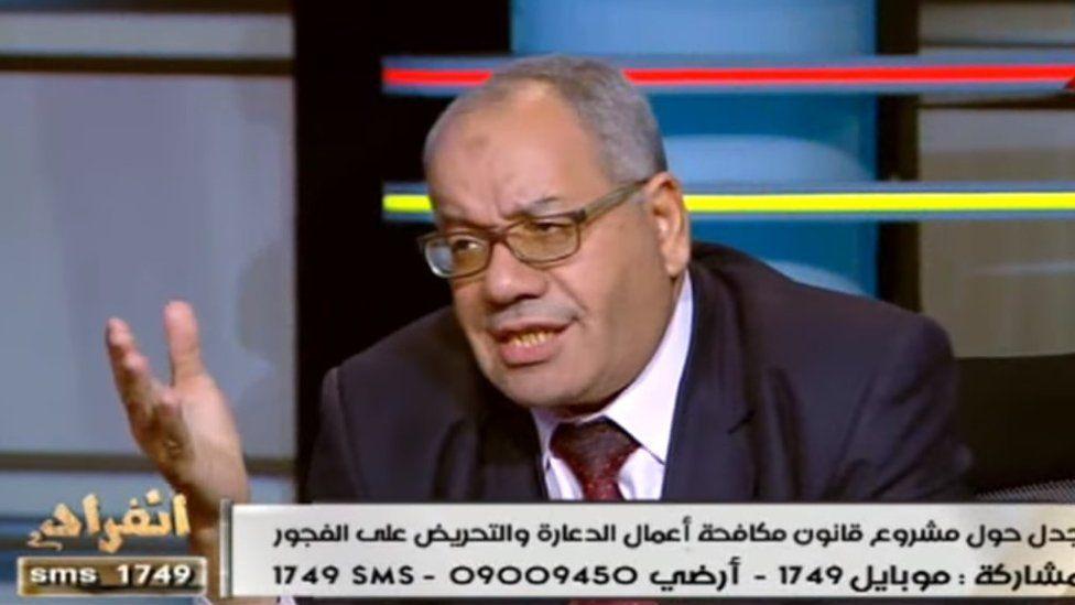 Nabih al-Wahsh has previously denied the holocaust