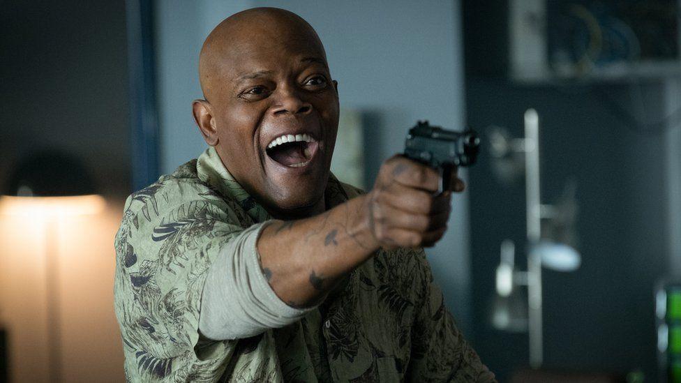 Samuel L Jackson in Hitman's Wife's Bodyguard