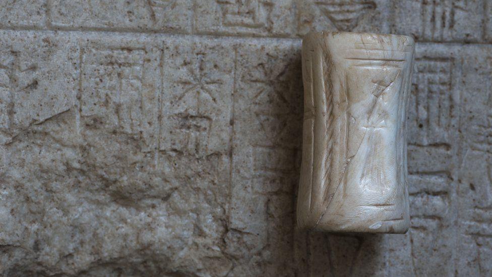 Stone foundation tablet