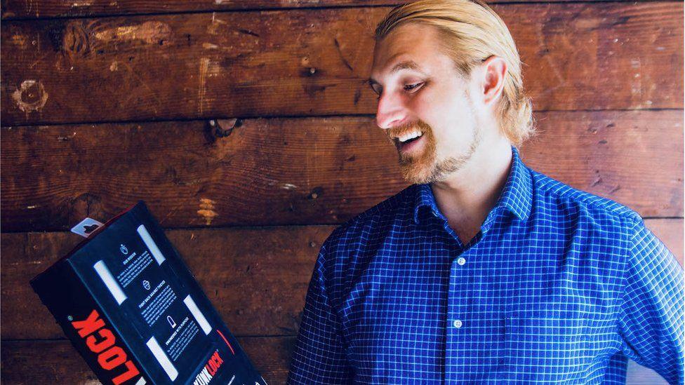 Daniel Idzkowski, SkunkLock Founder