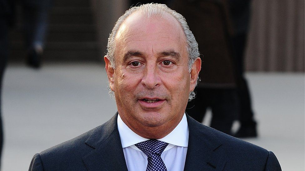 Sir Philip Green, Arcadia chief executive