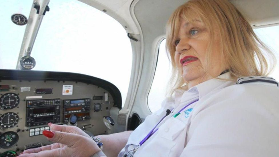 Cat Burton is now a flying instructor
