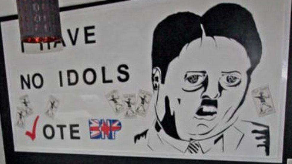 Nazi BNP mural