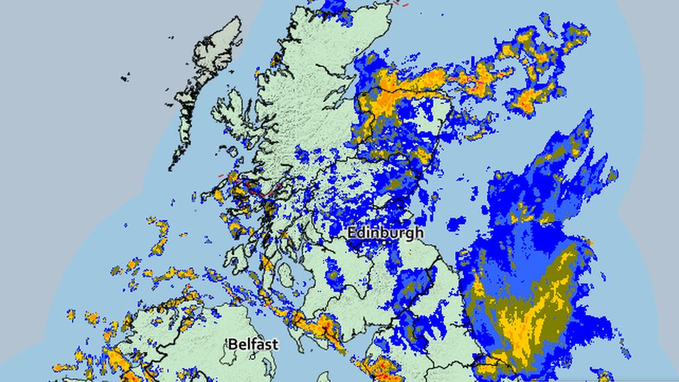 Met office rain map
